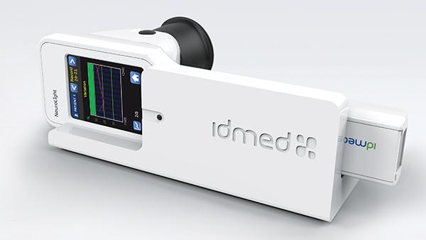 Wireless charging station for NeuroLight